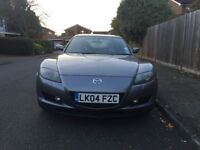 Mazda RX-8 231 PS for sale, leather interior, very low mileage, MOT, service history.