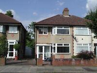 LOVELY 3 BEDROOM SEMI DETACHED HOUSE AVAILABLE IN ALDENEY GARDENS, NORTHOLT, UB5 5BT