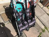 Cosatto double monster buggy