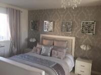 Velvet bedspread - kylie sequin throw, 4 kylie sequin pillow cushions, sequin kylie cushion