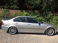 BMW 320D 150 BHP 2002 Silver ** Full Years Mot **