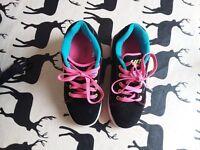 Girls Heelys roller trainers - good condition