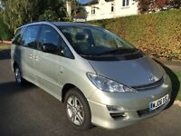 Toyota previa t3 d4d 7 seater 2006 one lady owner full Toyota history