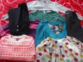 Bundle of girls clothes age 4-5 - VGC - Great brands - Gap, Indigo, Zara, Next etc