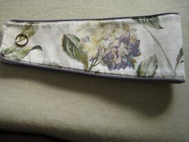 Laura Ashley Hydranga Indigo curtain tie backs