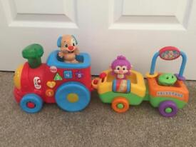 Fisher Price Laugh and Learn Stages Train