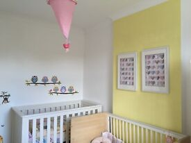 Mothercare cotbed & mattress
