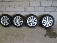 VOLKSWAGEN GOLF ALLOYS + TYRES -- CHOICE OF 6 X SETS --