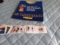 World Cup 2018 sticker swap