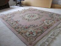 Sculpted Chinese Rug