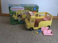 Sylvanian Families Nursery Bus With Box