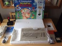 Commodore 64 C64 Playful Intelligence Computer Set Boxed Rare Fully Tested