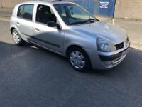Renault Clio 2005 MOT UNTIL OCTOBER