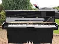 Modern black upright piano |Belfast Pianos| Free Delivery |
