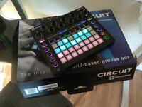 Novation Circuit / sequencer synth groovebox