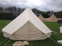 5m Bell Tents, 1 season old
