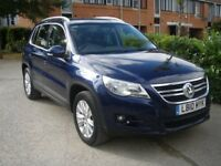 VW Tiguan 1 owner, 7 service stamps, showroom condition
