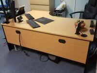 Office desk Large L shape