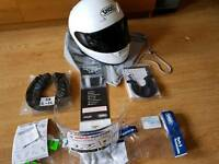 SHOEI XR1100 XL 61-62cm Crystal White Like Brand New !!!