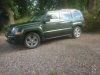 JEEP patriot limited CRD 2007 1 years MOT