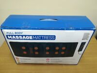 Full body massage mattress for chair or bed. Didn't used.
