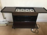 PHILIPS HOSTESS TROLLEY - VG CONDITION, MINIMUM USE