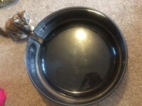 Landrover steel spare wheel cover