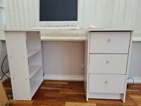 White office desk for sale