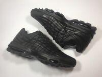 Nike Air Max 95 Ultra SE PREM Tripple Black Size 10 UK