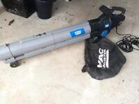 Macallister mbv2800 leaf blower