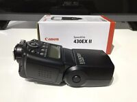 Canon Speedlite 430EX Shoe Mount Flash Good Condition