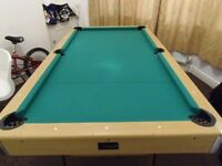 6 foot pool folding table