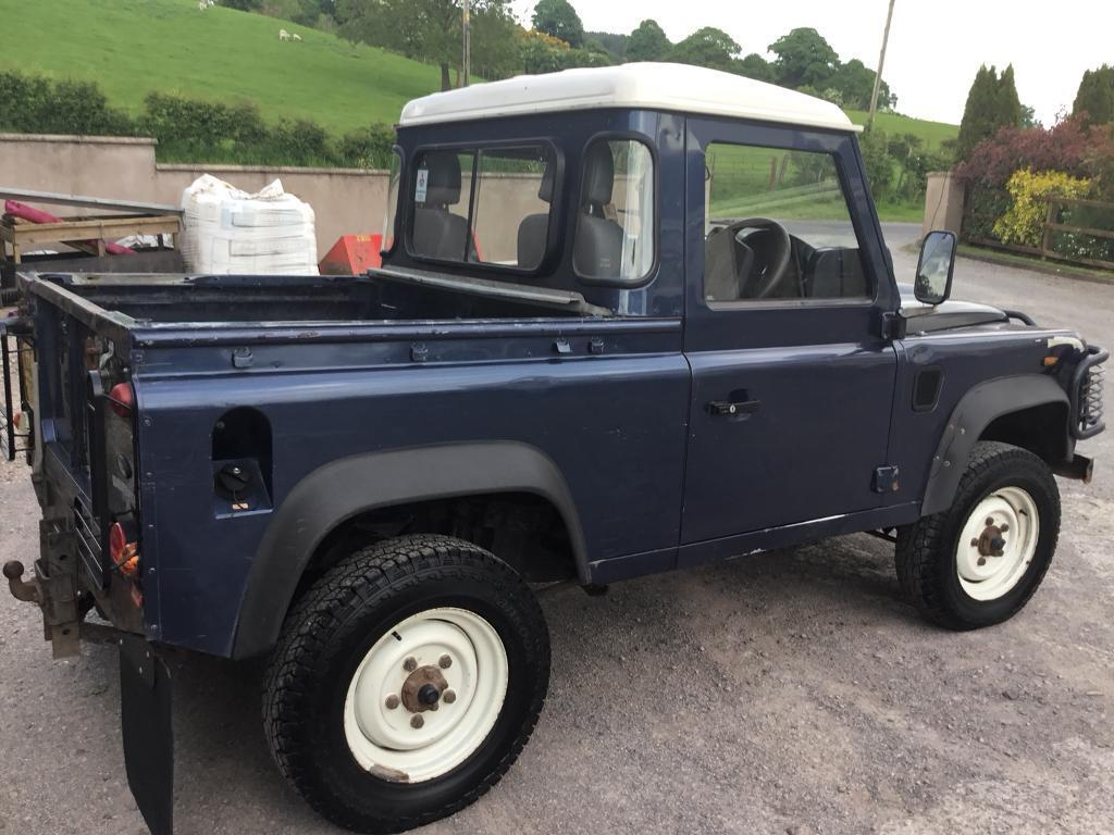 Land Rover Defender 90 Pick Up 2008 58000 Miles In Clogher