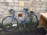 Vintage 1970's Raleigh Racing Bike