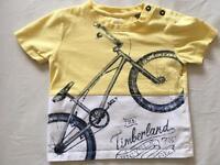 Timberland tshirt size 2 years