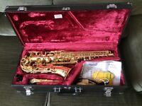 YAMAHA ALTO YAS-32 SAXOPHONE : INTERMEDIATE/SEMI-PRO MODEL : a Lovely Sax : GREAT CONDITION + Extras