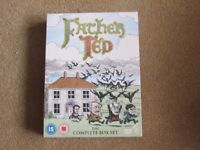Brand new, still sealed Father Ted Complete box set
