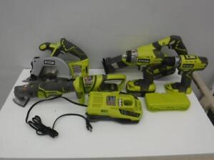 Ryobi Combo Kit P884. We Buy and Sell Used Power Tools and Equipment. 116025