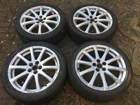 Two of these avensis wheels