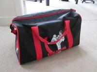 Kickboxing equipment bag