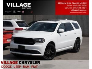 2017 Dodge Durango GT|Black Top|Sunroof|DVD|Nav|Remote Start