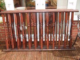 Decking Railing Balustrades x3