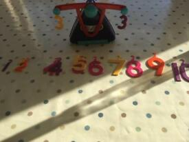 Early Learning Centre counter balance number game
