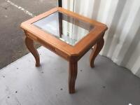 Mark Webster oak end table