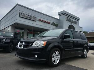 2016 Dodge Grand Caravan Crew+,LEATHER,PWR DOORS,ALLOYS