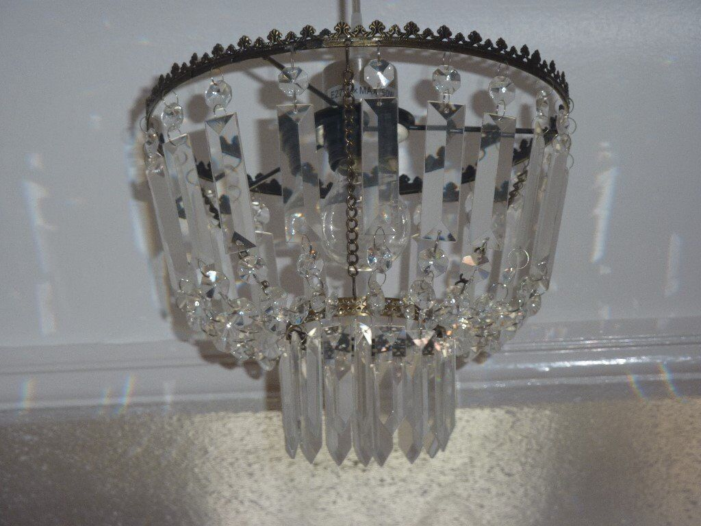 Clear glass droplet ceiling light shade in sale manchester gumtree clear glass droplet ceiling light shade mozeypictures Gallery
