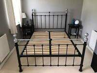 M&S Metal Bed Frame (King Size Bed)