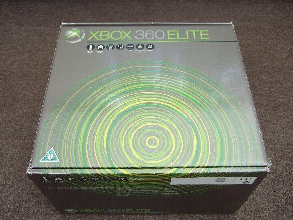 MICROSOFT XBOX 360 ELITE 120GB CONSOLE WITH 2