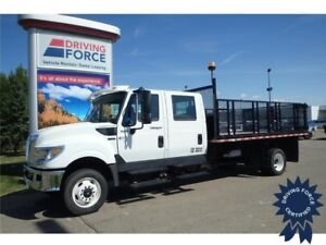 2014 International TerraStar SFA 4X4 14 ft Hoisting Deck, 6.4L