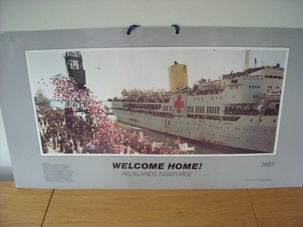 Welcome Home 1983 Falklands Calendar